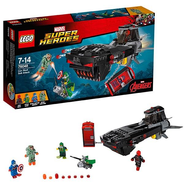 Конструктор Похищение Капитана Америка Lego Super Heroes