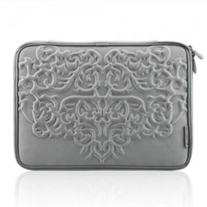 Чехол для MacBook Геральдика (цвет - серебряный)