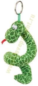 Мягкая игрушка-брелок «Змея в яйце»