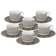 Чайный набор на 6 персон Мокко Naomi