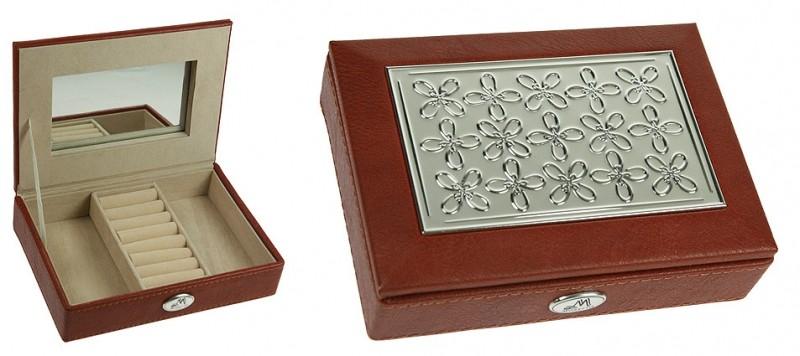 Светло-коричневая шкатулка для ювелирных украшений Moretto