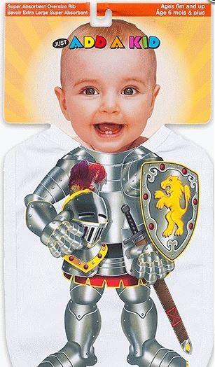 Слюнявчик Рыцарь