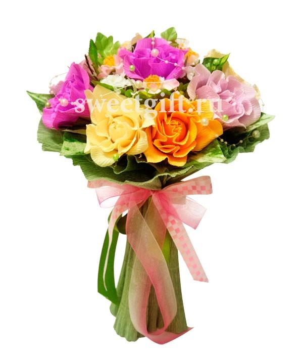 Букет из конфет Танец цветов 6