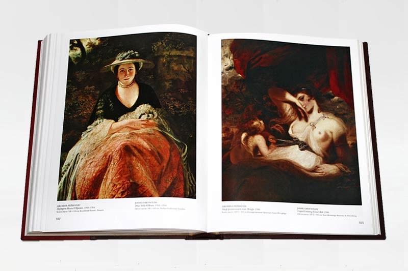 Подарочная книга «Шедевры мировой живописи»