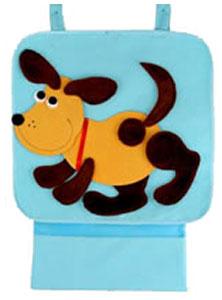 Собачка — аппликация для коврика-конструктора