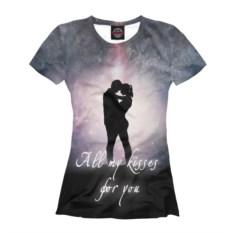 Женская футболка Влюбленные