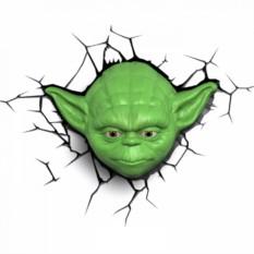 3D Ночник Магистр Йода
