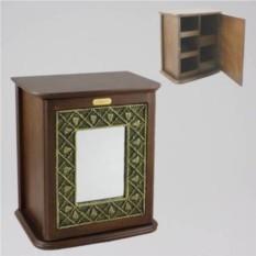 Настенный шкафчик для мелочей с отделениями Флер Де Роз