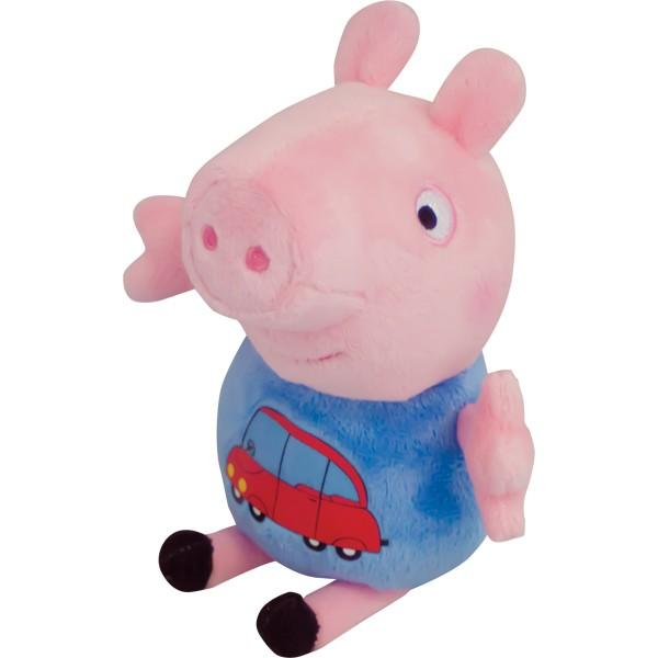 Мягкая игрушка «Джордж с машинкой», Peppa Pig