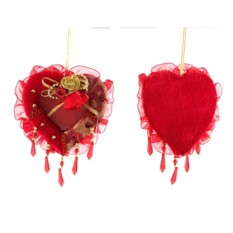 Ёлочная игрушка Сердце