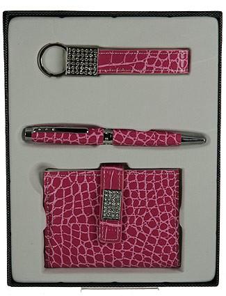 Подарочный набор, темно-розовый