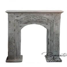 Декоративный деревянный камин из коллекции Прованс