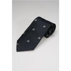 Синий галстук со строгим орнаментом Enrico Coveri