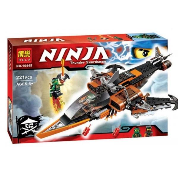 Конструктор Bella Ninja Небесная акула