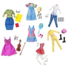 Одежда для куклы Mattel Barbie Наряды для разных профессий