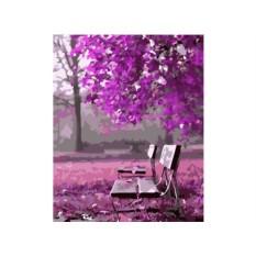 Картины по номерам «В ожидании романтики»