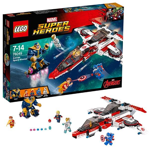 Конструктор Космическая миссия Lego Super Heroes