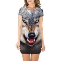 Платье 3D Волк