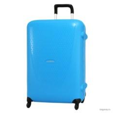 Голубой чемодан Samsonite termo young