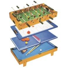 Игровой стол 4 в 1 Любимые игры