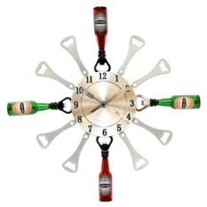 Настенные часы Пивные открывалки