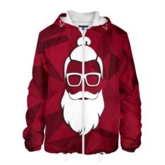 Мужская куртка Санта хипстер