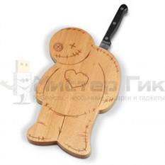 Разделочная доска и нож Вуду