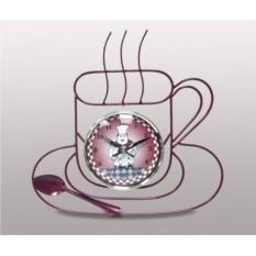 Настенные часы Чайная пара