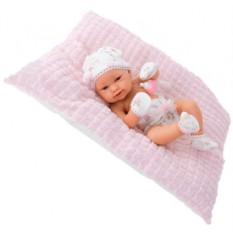 Кукла-младенец Бенни в розовом