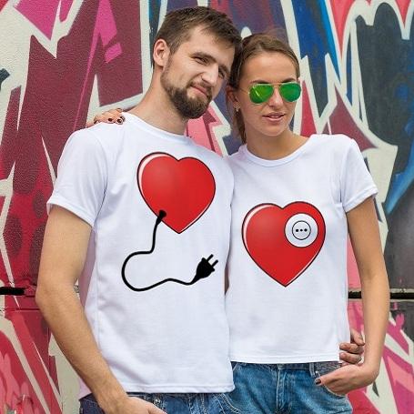 Парные футболки Энергия для сердца
