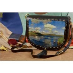 Женская сумка-седло с принтом Elole Design Природа