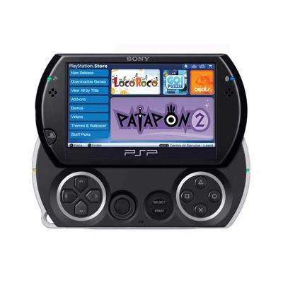 Приставка Sony PSP Go