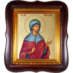 Ариадна Промисская (Фригийская), мученица. Икона на холсте.