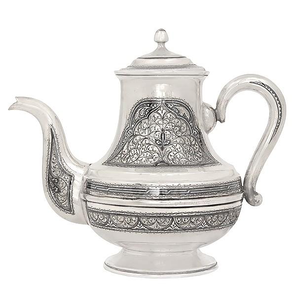 Чайник из столового серебра