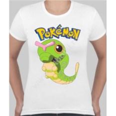 Женская футболка с покемоном Катерпи