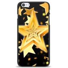 Чехол на телефон Желтые звезды