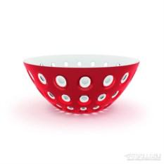 Красная салатница Le Murrine 25 см