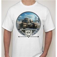 Мужская футболка World of tanks-2