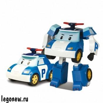 Машинка - трансформер Поли (Robocar)