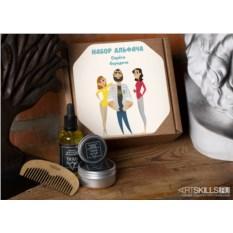 Подарочный набор по уходу за бородой «Набор альфача»