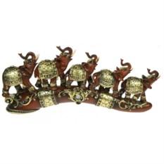 Декоративная фигурка Пять слонов