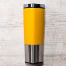 Желтая термокружка Пиренеи