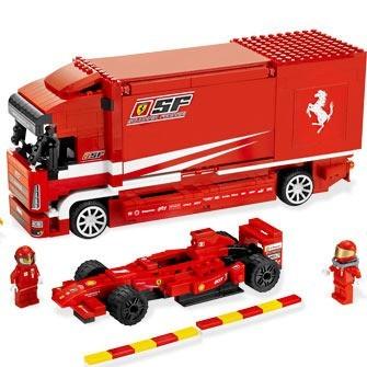Lego Racers «Грузовик Ferrari»