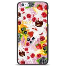 Чехол на телефон Молоко и фрукты