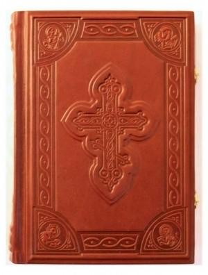 Подарочная книга Библия, средняя с замками