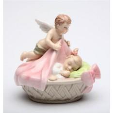 Статуэтка Ангел с девочкой Cosmos Gift