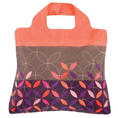 Эко-сумка Аппликация фиолетовая