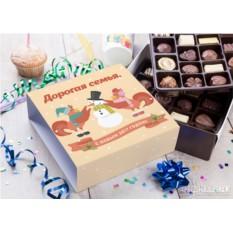 Бельгийский шоколад «Новогодние птички»