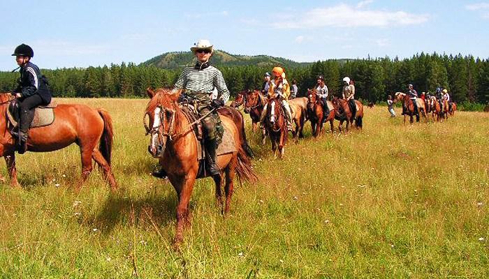 Конный поход с КСК «Баллада»