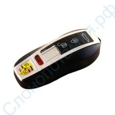 USB зажигалка в виде брелка машины Porsche